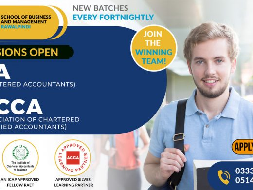 Admissions open CA & ACCA